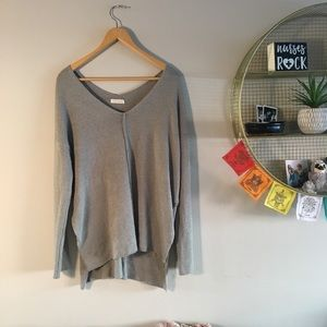 Lush oversized cozy sweater